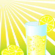 Royalty-Free Stock Photo: Glass of lemonade