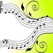 Royalty-Free Stock Imagen vectorial: MUSIC THEME