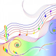 Royalty-Free Stock Vector: MUSIC THEME