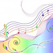 Royalty-Free Stock Vektorov obrzek: MUSIC THEME