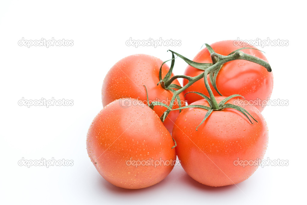 Home grown tomatoes — Stock Photo #1079187