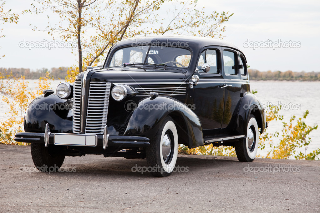 Old car buick special — Stock Photo #1081910