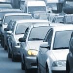 trafik sıkışıklığı 3 — Stok fotoğraf