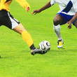 Soccer match — Stock Photo
