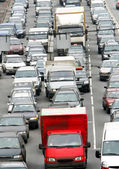 Traffic jam 1 — Stock Photo