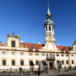 Stock Photo: LoretChurch in Prague