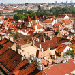 Prague Roof tops — 图库照片