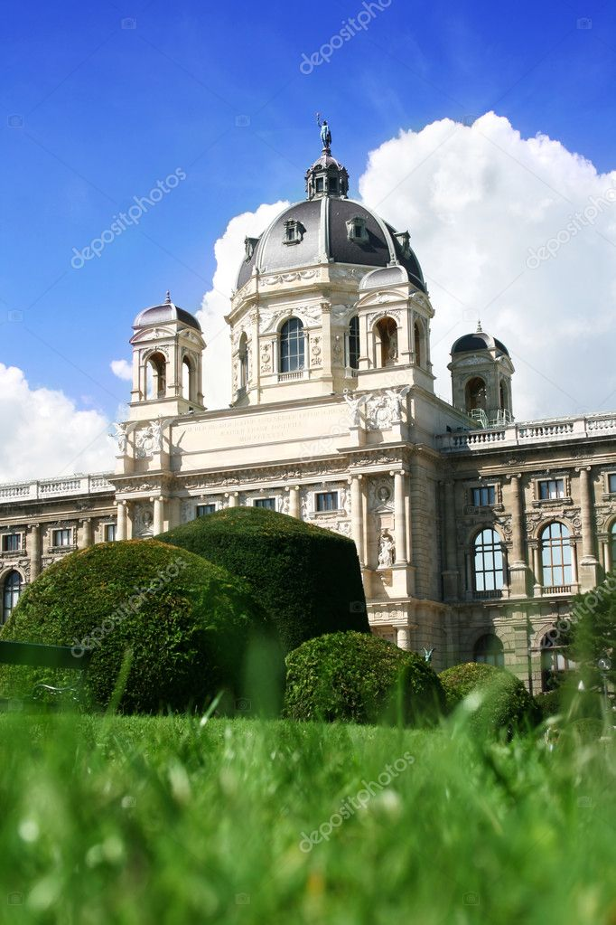 Natural history museum in Vienna, Austria — Stock Photo #1044990