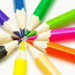 Royalty-Free Stock Photo: Coloured pencils