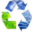Royalty-Free Stock Photo: Recycling symbol