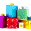 Christmas box gifts — Stock Photo #1622884