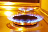 Flames of gas — Stock Photo