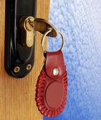 Lock and key — Stock Photo