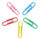 Paper-clips — Stock Photo