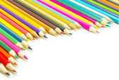 Coloured pencils — Stock fotografie