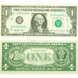 One dollar — Foto de Stock