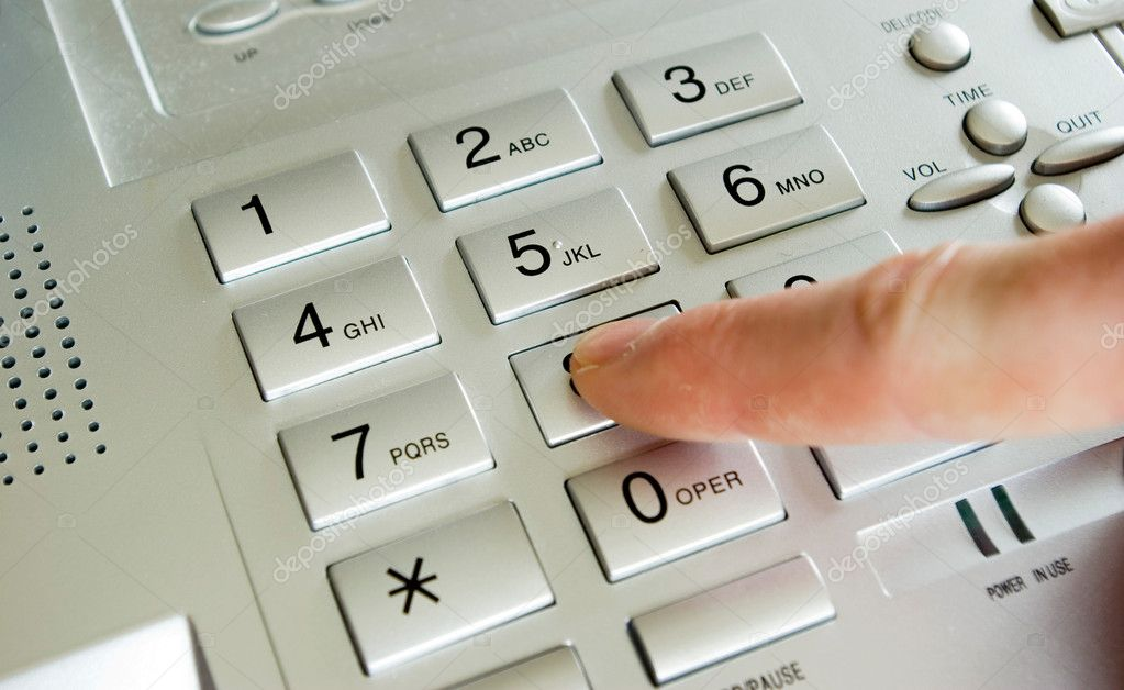 电话键盘 — 图库照片08pakhnyushchyy#2119106