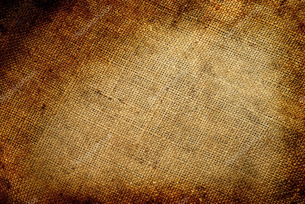 Background old  sack by a large plan  Stock Photo #2119145