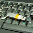 Stock Photo: Usb flash