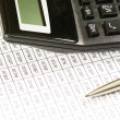 Pen and calculator — Stock Photo #2338764