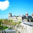 Fort in kamjanets podolsk — Stock Photo