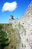 Fort in kamjanets podolsk — Stock Photo