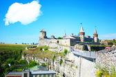 крепость в каменец-подольске — Стоковое фото