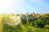 Fort w kamieńca podolsk — Zdjęcie stockowe