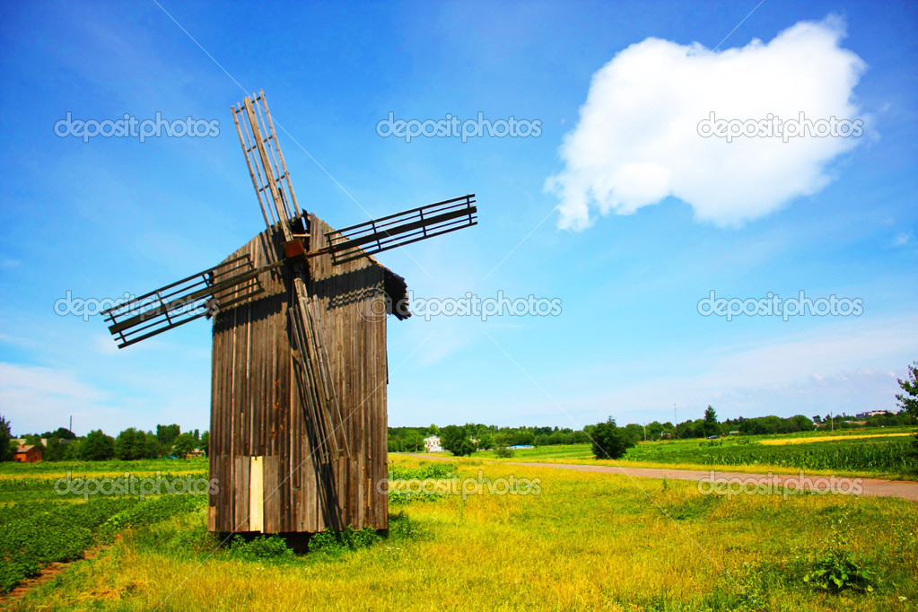 Mill — Stock Photo #1009504