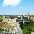 Fort in kamjanets podolsk — Foto Stock