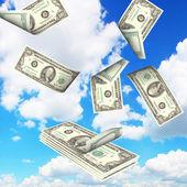 пачка денег — Стоковое фото
