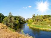 Beautifully river — Stock Photo