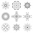 Royalty-Free Stock Imagem Vetorial: Set of vector patterns