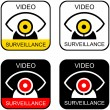 Royalty-Free Stock Vector Image: Video surveillance