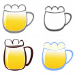 Royalty-Free Stock Vector Image: Beer mug