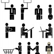 Royalty-Free Stock Imagem Vetorial: Vector pictogram