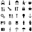 Set of vector icons - Vettoriali Stock