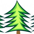 Royalty-Free Stock Vector Image: Christmas tree - fir
