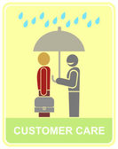 Customer care — Stock Vector