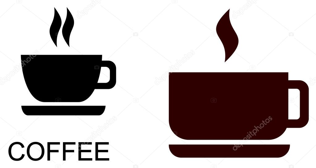Vector stylized image of coffee cup.  — Stock Vector #1038149