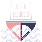 远洋客轮-徽标 — 图库矢量图片 #1040780