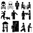 Vector icons - Stockvektor