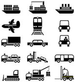 Transport and vehicles — Stock Vector