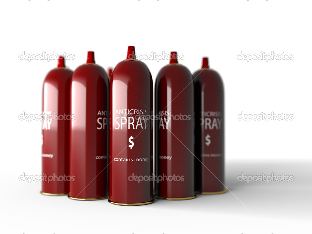 Anti crisis spray tool isolate  Stock Photo #1007219