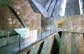 Modern entrance concrete construction — Stock Photo