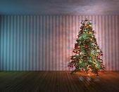 Christmas tree fir — Stock Photo