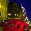 Classic Car parked on Night Street — Stock Photo #1074065
