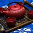 Royalty-Free Stock Photo: Oriental tea ceremony set