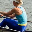 Rowing girl — Stock Photo #1077771