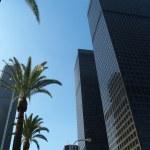 Постер, плакат: Los Angeles skyscrapers